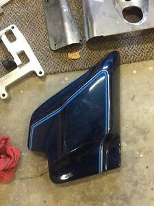 Left side frame cover
