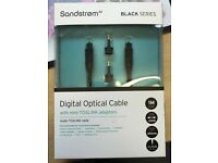 Sandstrom digital optical cable 1meter