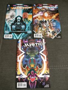 Justice League #43, 44, 45