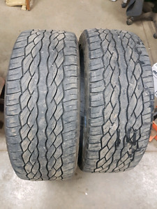 265/40R22 tires - almost new