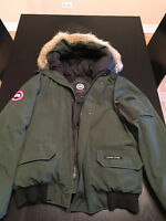Canada Goose Jacket Green Large for sale