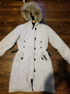 Real womans Canada Goose Parka
