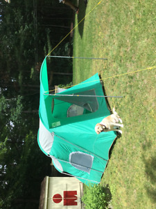 Woods camping tent