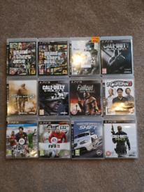 PS3 Games x12