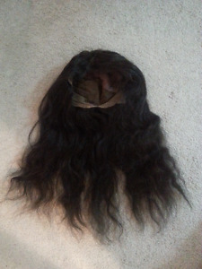 Real Human Hair Wig with Accessories