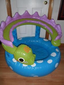 """Unused sm child paddling pool. $8. 38""""across"""