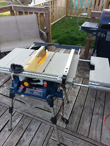 RYOBI PORTABLE TABLE SAW (TOP OF THE LINE