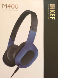 Headphones Kef M400 excellent quality, new in box!