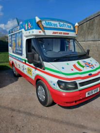 Whitby mk6 transit soft ice cream van