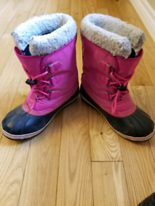 Girls (youth) size 6 Sorel winter boots