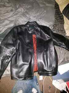 Danier real leather men's jacket size s