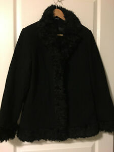 Women's Black Winter Coat
