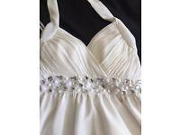 White dress prom/ball/wedding