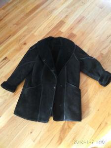 Manteau en peau de mouton/Sheepskin coat