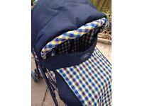 Britax Italian style pushchair