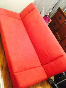 For Sale: Red Futon