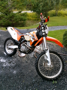 2012 KTM XCF 350 Blue Plated