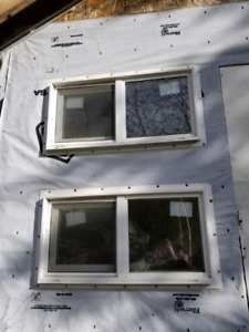 Small pvc windows