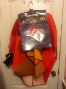 Angry bird outfit / Halloween costume, Childs one size fit all