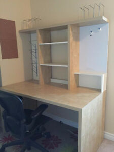 IKEA Desk and Hutch - Reduced to sell $115