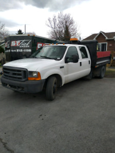 Ford f350 dompeur benne dompeuse