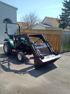 2007 4X4 DONGFENG 254 tractor and loader