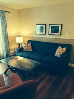 Centrally-located furnished condo- Available January 1st