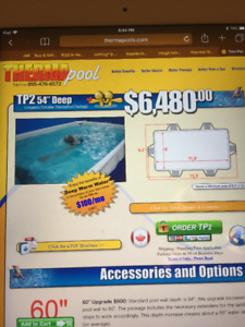 Therma Therapy Pool For Sale