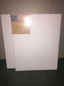 3 - 16' x 20' art canvases