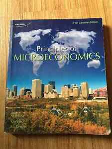Textbook, introductory microeconomics, econ 111