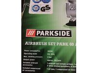Parkside airbrush set 60 1A new