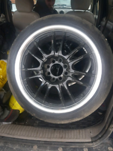 17 inch tires are done 7 outta 10