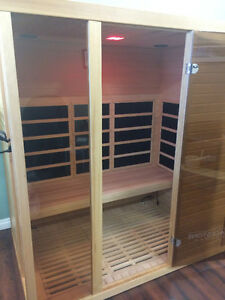 Vancouver sauna Far infrared two person sauna on sale