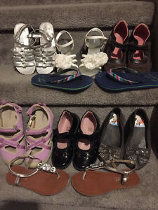 Girls size 11/12 shoes and sandals