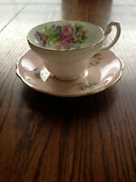 Bone China Teacup & Saucer Sets- Royal Albert, England