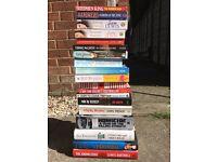 Job lot of 19 books - car boot/market