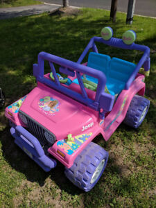 Power Wheels by Fisher Price Barbie Jeep