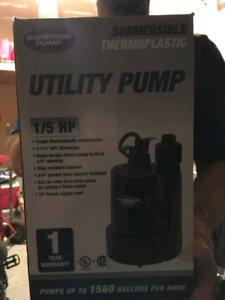 Small swimming pool utilitypump