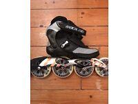 K2 radical pro speed skates