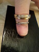 Wedding Band set His and Her's Infinity collection set