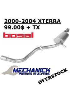 Muffler 2000-2004 XTERRA Bosal Silencieux