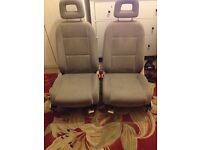 Audi a2 seats full interior beige / cream colour breaking spares