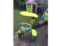 Smart trike 3-1 excellent condition, only use don the decking