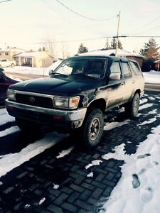 1995 Toyota 4Runner certified
