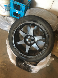 Set of 4 19.5in rims and tires / $500 obo