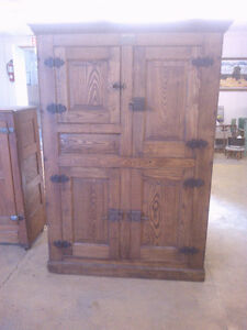 Antique Oak Ice Box--Reduced from $3,500