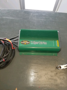 Triple bank battery charger