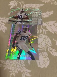 2 Topps Hobby Masters Marvin Harrison Football Cards #HM4-HM9