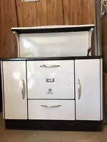 Antique Mclary wood burning stove/oven.
