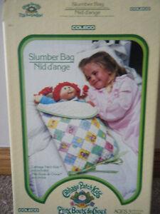 Vintage Cabbage Patch Kid slumber bag